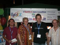 Amici per EpaC alla Notte della Solidariet di Roma (Associazione EpaC Onlus) Tags: festival salute sangue hcv grasso convegno fegato infetto trapianto tumore cirrosi epatite steatosi epatocarcinoma indennizzo