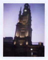Fuji Instant Film (sm_fenn) Tags: colour polaroid fuji dusk glasgow silk super plus shooter tronchurch fp100c instandfilm professionalfilm