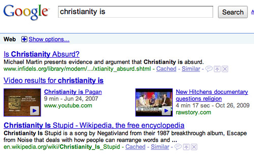 Christianity is Absurd & Stupid?