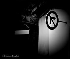 Absolutely Forbidden! - Assolutamente Vietato! (Cristiano Ercolani) Tags: road street canon eos strada forbidden absolutely roadsign interdiction prohibition segnalistradali divieto proibito 500d vietato girare assolutamente forbiddance proibizione interdetto interdizione assolutamentevietato cristianoercolani