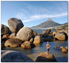 Cosy Bay Swimmer (Panorama Paul) Tags: enzo rockpool nohdr sigmalenses cosybay nikfilters vertorama nikond300 wwwpaulbruinscoza paulbruinsphotography