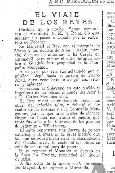 ABC 26 Abril 1922
