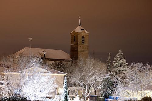 Fotos de la Nevada de Enero de 2010 en Moraleja de Enmedio