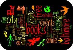 Pratt Library Wordle 2: books and shapes and more