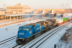 Conrail (NS) 6757 and NS 8863 by Toledo Union Station