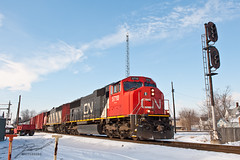 CN 5710 Through Carleton