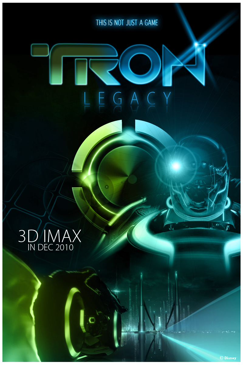 Tron Legacy Poster Concept