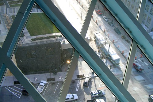 Looking Down From Observation Deck