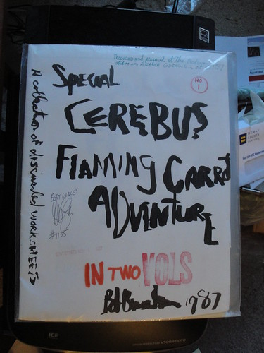 Special Cerebus Flaming Carrot Adventure