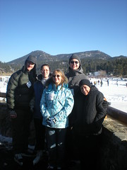 The Family at Evergreen Lake