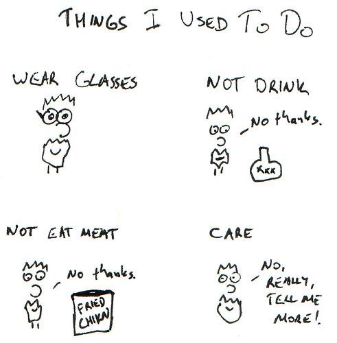 366 Cartoons - 345 - Things I Used to Do