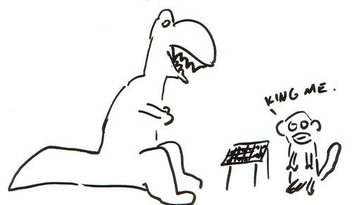 366 Cartoons - 347 - Checkers