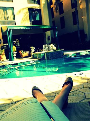 poolside poetry