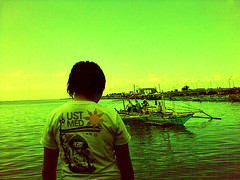 smelling the harbor (angeltm) Tags: poverty philippines shanty dagatdagatan