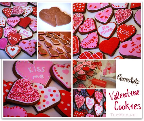 Valentine Cookies by TidyMom