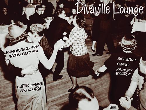 Divaville Lounge Flyer