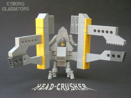 LEGO Head-Crusher Cyborg Gladiators mecha