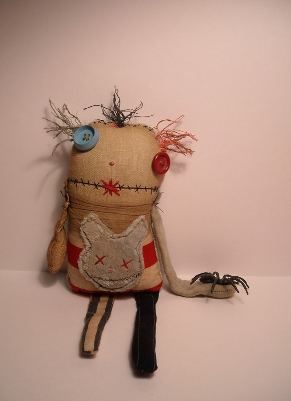JunkerJane fabric doll 3