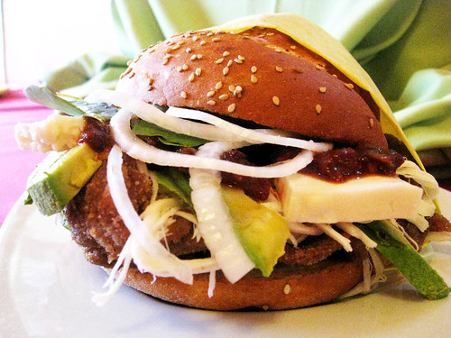 Chile-Marinated Pork Sandwiches On Cemita Rolls Recipes — Dishmaps