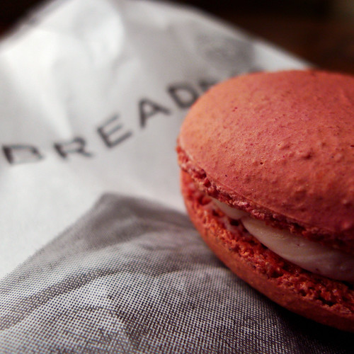 Strawberry Macaroon from Breadbar