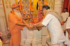Bhagawad - Day Seven - Tilak Pujan aur Aarati (22nd Jan 2010) (Udasin Karshni Ashram / Naresh Swami) Tags: mathura porbandar ramanreti sandipani swamikarshninaresh swamikarshnigurusharanandajimaharaj bhagawadpravachan rameshbhaiohja nareshswami