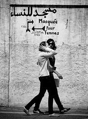 Casablanca's medina, Morocco (Tom Szustek) Tags: girls modern photography photographie muslim islam religion young mosque morocco maroc mosquee casablanca moroccan