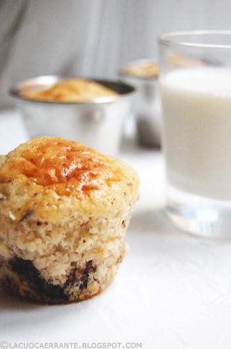 Choco-banana muffin