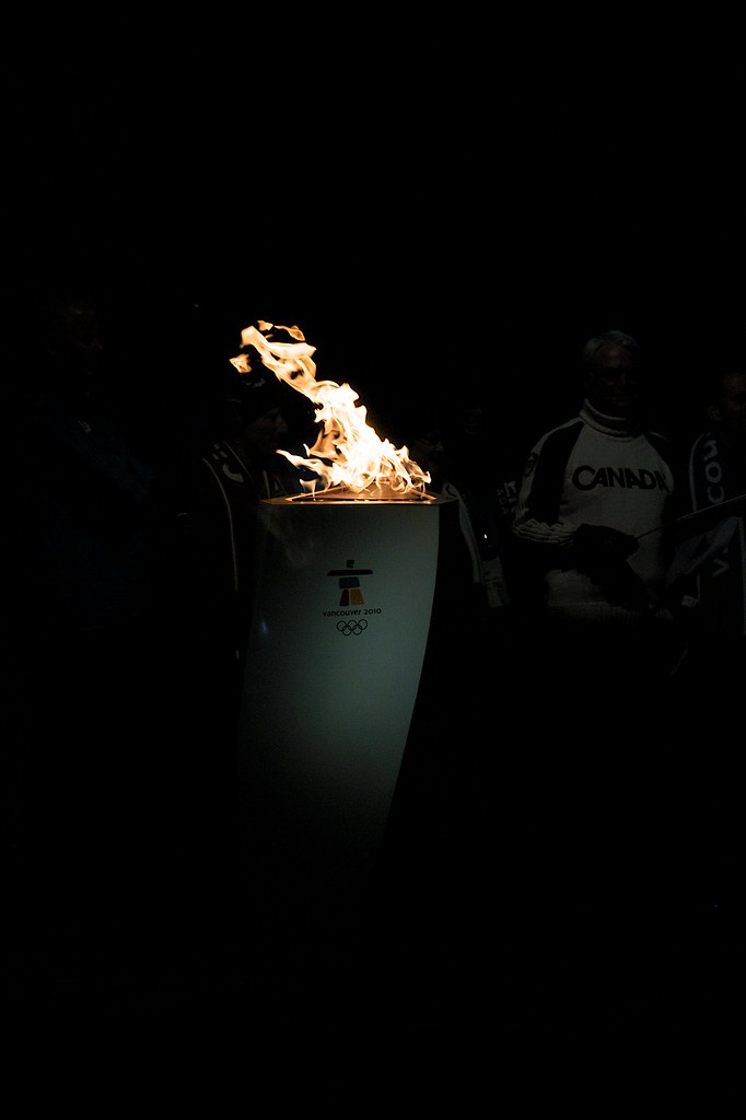 Olympic Flame in Whistler