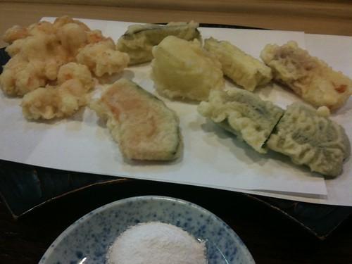 与太呂(よたろ) かきあげ定食
