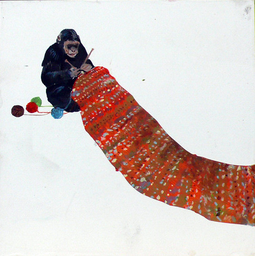 Michael_Dumontier__Neil_Farber_Inc_Untitled_monkey_knitting_2009_1581_97