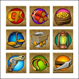 free Gold Rally slot game symbols