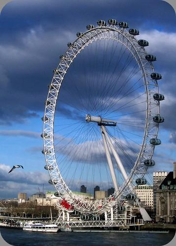 the london eye closer