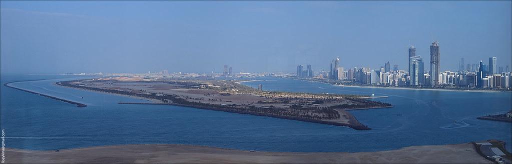 Panorama of Abu Dhabi
