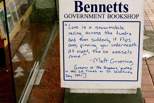 Thursday: Bennetts Quote