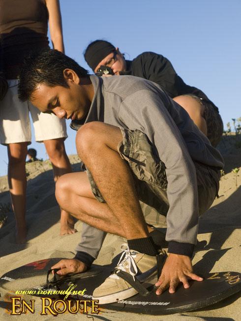Lakbay Norte Sand Boarding