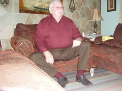 Poppa 011 (staggerlee1) Tags: people sitting grandfather grandpa sit granddad granddaddy seated poppa 2010