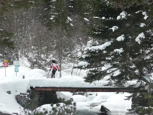 Esquí de fondo de Pont d'Espagne