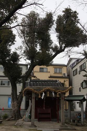 佐太天満宮 旧御旅所(飛来神社)