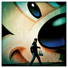 """Under the Eye of Mickey"" (x 4) (Sion Fullana) Tags: people urban newyork square creative streetphotography disney mickey entertainment squareformat timessquare mickeymouse characters allrightsreserved disneystore newyorkers newyorklife iphone 500x500 streetwalkers urbanshots creativeshots urbannewyork nyclife iphonephotography iphoneshots iphoneography iphoneographer sionfullana hipstamatic hipstamaticapp johnslensblankofilm disneyfall2010 newdisneystoreintimessquare characterswalking undertheeyeofmickey throughthelensofaniphone"
