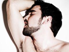H-U-N-K (tim_asato) Tags: guy armpit beard orgasm hunk chico orgasmo hunks swet sudor emilioramirez timasato