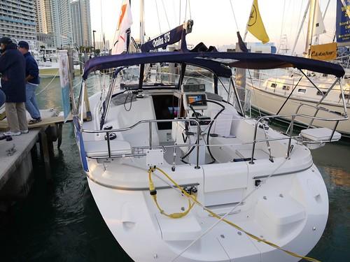 Catalina 375 - Rear ...