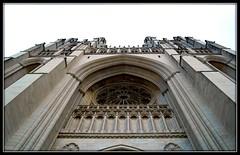 Washington National Cathedral (BAR Photography) Tags: snow catholic religion churches temples mass wintertime lent ashwednesday washingtonnationalcathedral religiousholiday dcchurches