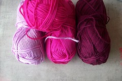 19 (fleurfatale) Tags: new wool colors crochet shades yarn cotton