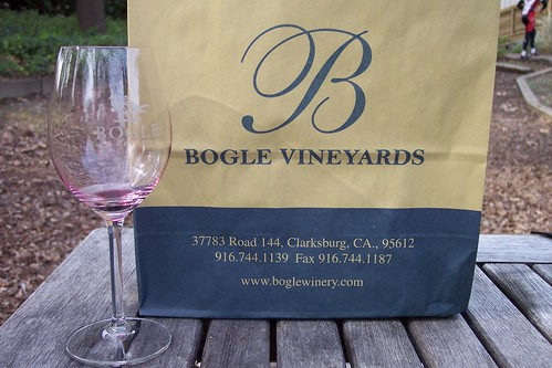 after the tasting - Bogle Vineyards