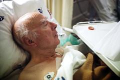 grandpa in the hospital