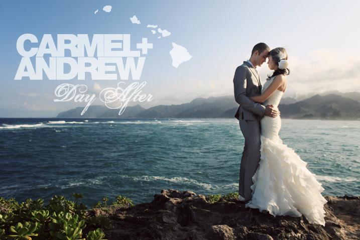 Oahu Wedding Day After