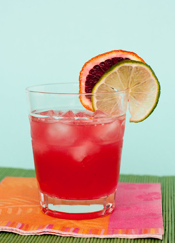 Mai Tai with Blood Orange and Coconut Rum