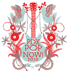 PDX Pop '10 logo
