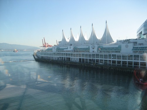 A view of the Canada Place sails