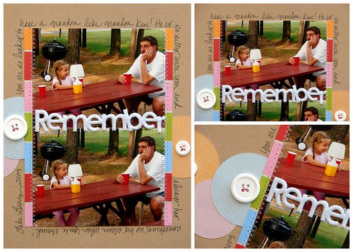 Remember Layout Collage